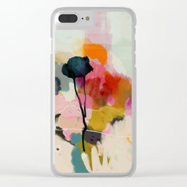 paysage abstract Clear iPhone Case