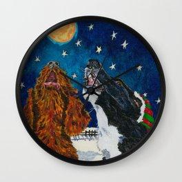 The Moon Dog Singers Wall Clock
