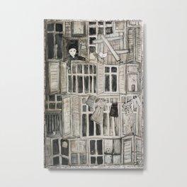 fenêtre Metal Print