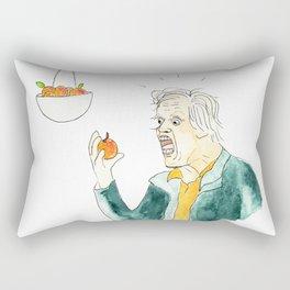 Gary Busey Eats a Peach Rectangular Pillow