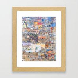 Mediterranean journey-Sicily Framed Art Print