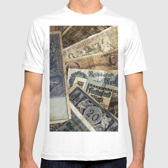 Old German money T-shirt