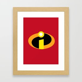 Incredibles Framed Art Print