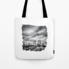 Interstate 74 Bridge - IL/IA Tote Bag