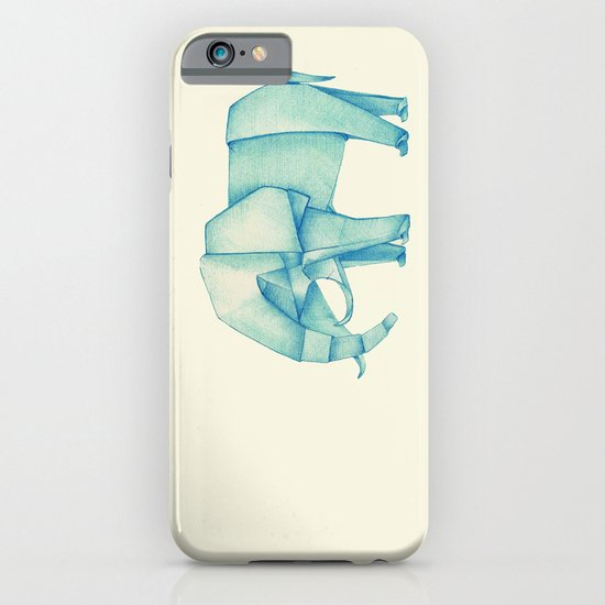 Paper Elephant iPhone & iPod Case