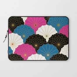 Japanese Chrysanthemum 2 Laptop Sleeve