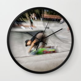 AcidGrind Wall Clock