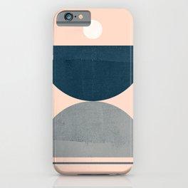 Abstraction_NEW_SHAPE_BALANCE_POP_ART_555AB iPhone Case