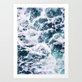 Rough Ocean Art Print