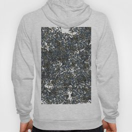 Abstract Floral Print Spring Hoody