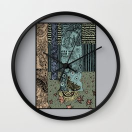 Keeper of the Grove Wall Clock