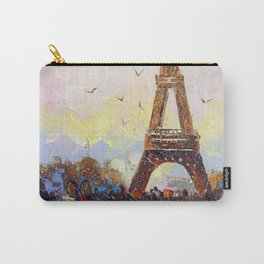 Romantic walk in Paris Carry-All Pouch