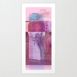 God's Goats and Kardashians [3D Screening at Vu Cinemas] Art Print