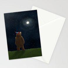 Starry Night Novembear Stationery Cards