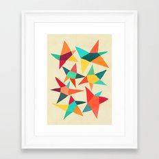 Dancing Stars Framed Art Print