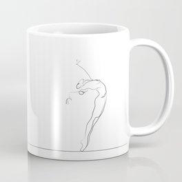 Dancer Line Drawing Coffee Mug