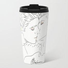 Magnus and Alec Travel Mug