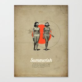 Summerish Canvas Print