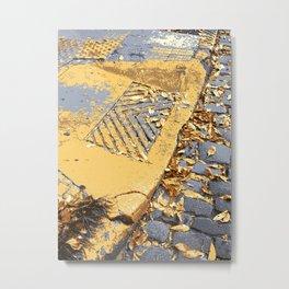 Old sidewalk Metal Print