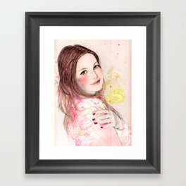 Ludivine Framed Art Print