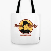 philadelphia Tote Bags featuring Rocky - Philadelphia by Buby87