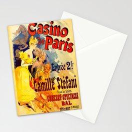 Vintage poster - Casino de Paris Stationery Cards