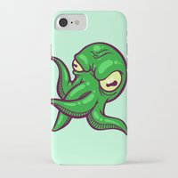 cthulhu iPhone & iPod Cases featuring Cthulhu by Artistic Dyslexia