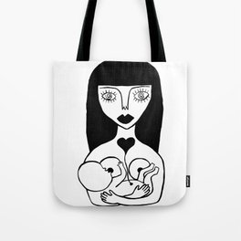 normalize breastfeeding Tote Bag
