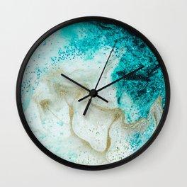 "Tides of Change | ""Sand Bar"" (4) Wall Clock"