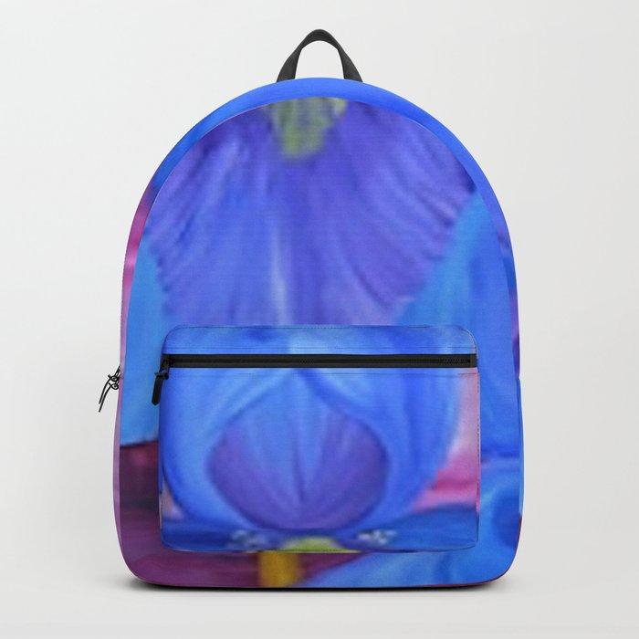 Blue Iris Backpack
