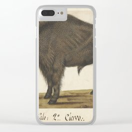 Album Sheet with a Bison, Albrecht Dürer, c. 1550 - c. 1570 Clear iPhone Case