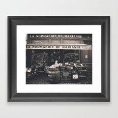 Shop France Framed Art Print