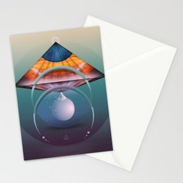 ∆ andromedan eclipse Stationery Cards
