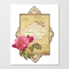 Paris Perfumery Canvas Print
