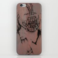 bane iPhone & iPod Skins featuring Bane, by Laura Hodgson