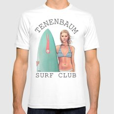 Margot Surfs White SMALL Mens Fitted Tee