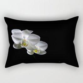Low key orchids... Rectangular Pillow