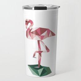 Rose's Flamingo Travel Mug