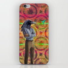 crow head sees all iPhone & iPod Skin
