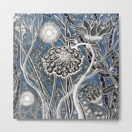 Midnight Garden Metal Print