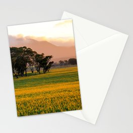 Sunset on the Stirling Ranges, Western Australia Stationery Cards