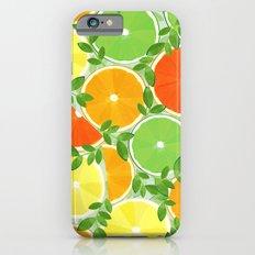 A Slice of Citrus Slim Case iPhone 6s