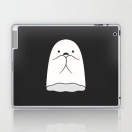 The Horror / Scared Ghost Laptop & iPad Skin