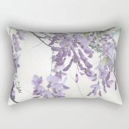 Wisteria Lavender Rectangular Pillow