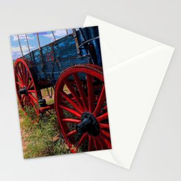 Old Military Wagon Stationery Cards
