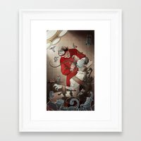 dentist Framed Art Prints featuring The Dentist by Ryan Smith