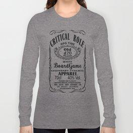 Critical Role Co. (Black) Long Sleeve T-shirt