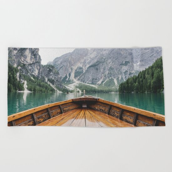 Live the Adventure Beach Towel