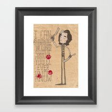 Sweeney  Framed Art Print