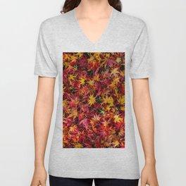 Autumn leaves Unisex V-Neck